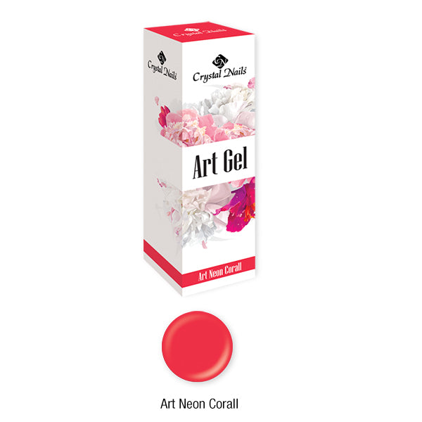 ART GEL COLOR GEL - ART NEON CORALL (5ML)
