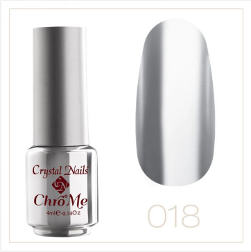 CHRO ° ME CRYSTALAC - 18 ROSE SILVER (4ML)