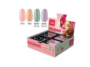 NOW WANTED! ROYAL GEL SET 2018 SPRING-SUMMER (4X4,5 ML)