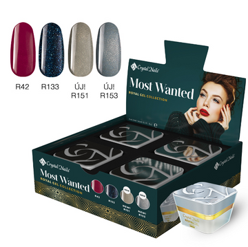 NOW WANTED! ROYAL GEL SET 2019 WINTER (4X4,5ML)