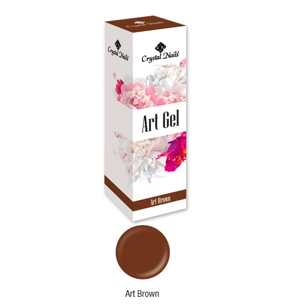 ART GEL COLOR GEL - ART BROWN (5ML)