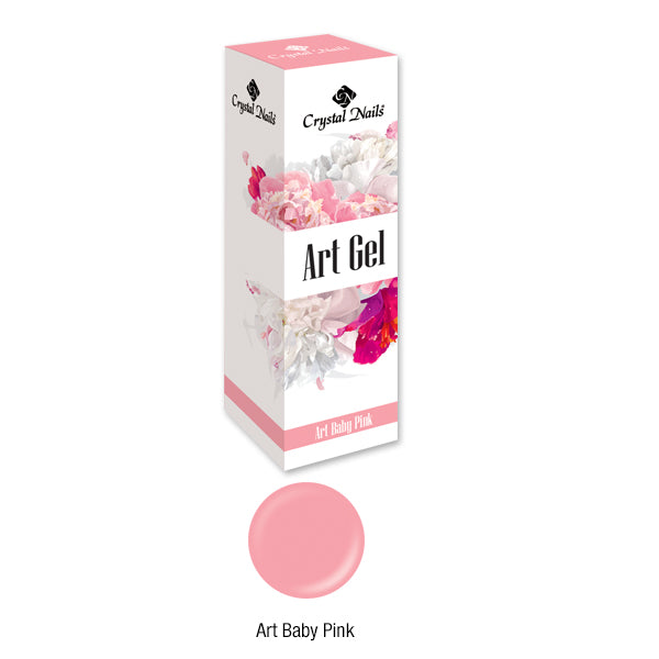 ART GEL COLOR GEL - ART BABY PINK (5ML)
