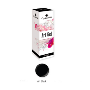 ART GEL PAINT GEL - ART BLACK (5ML)