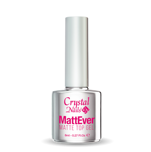 Mattever 8ml - Crystal Nails Sweden