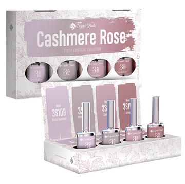 2019 4COLORS4DISPLAY 3 STEP CRYSTALAC KIT - CASHMERE ROSE