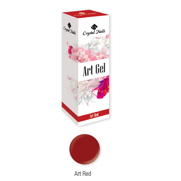 ART GEL COLOR GEL - ART RED (5ML)