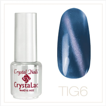 TIGER EYE - CRYSTALAC #6 (4ml)