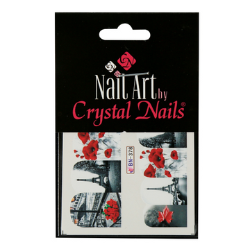 VALENTINE'S DAY NAIL STICKER (BN378)