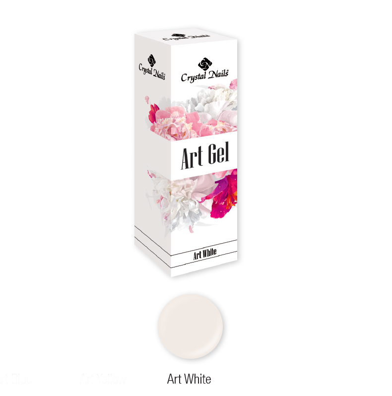 ART GEL COLOR GEL - ART WHITE (5ML)