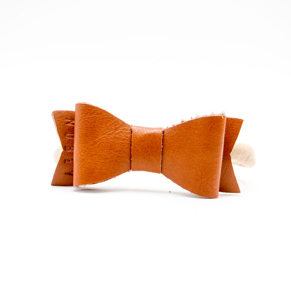 Caramel Brown - Genuine Leather Kelly Headband