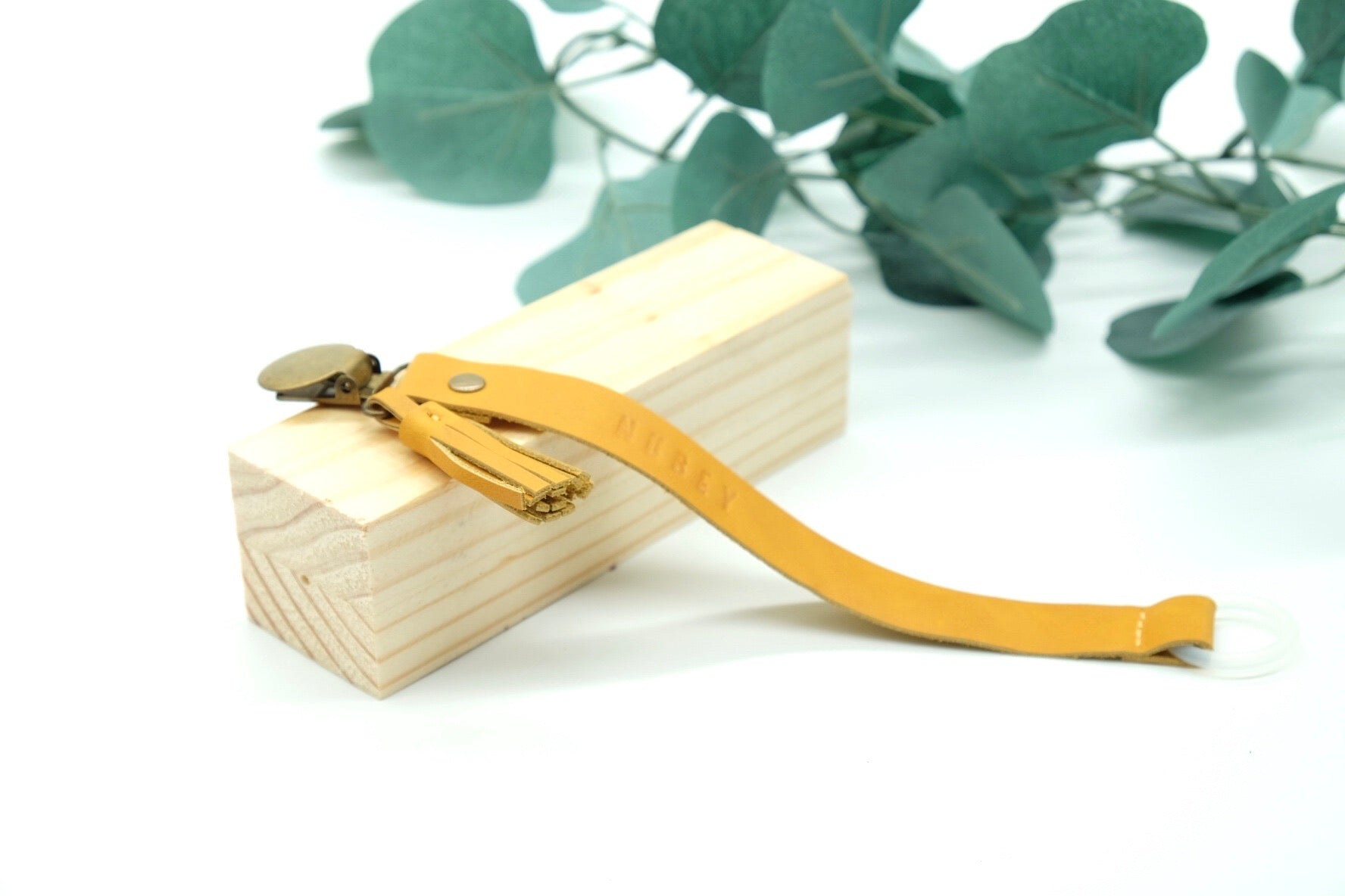 Mustard Yellow - Genuine Wax Leather Sally Dummy Clip