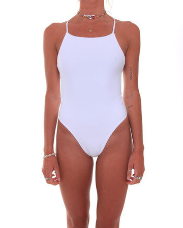 Mila One-Piece // White