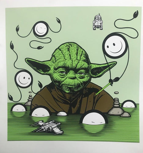 Yoda at Sea with Flocking
