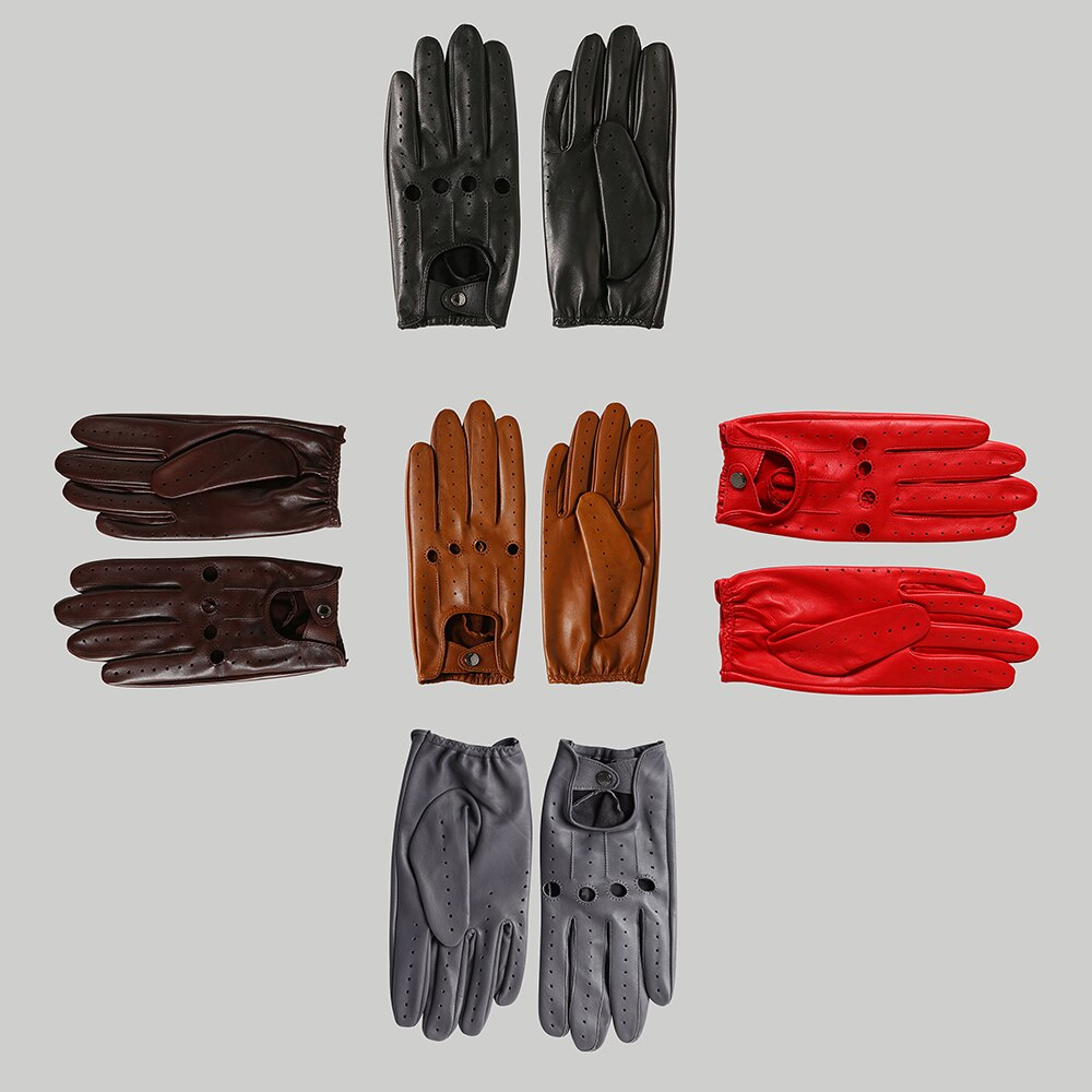 Driving Gloves - Gun Metal Grey
