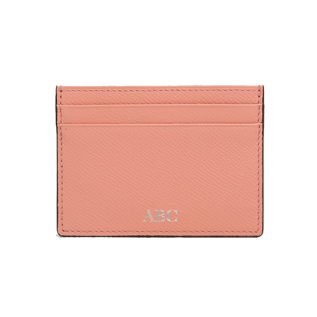 Personalised Card Holder - Pink