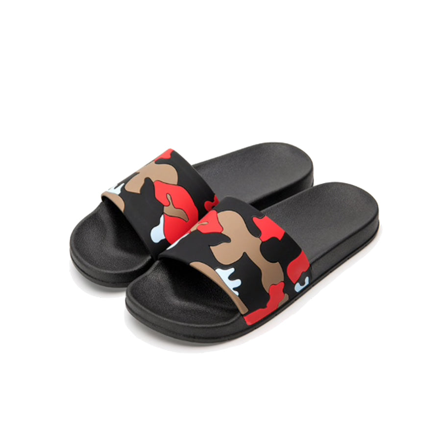 Lords Camo Sliders - Red