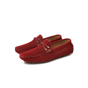 Marina Rope Buckle - Deep Red