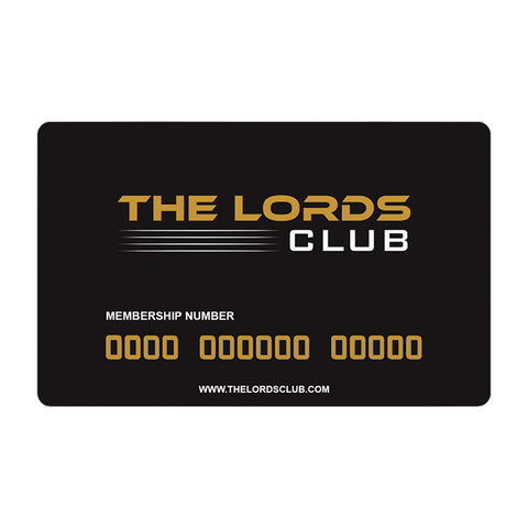 LORDS CLUB MEMBERSHIP (1 YEAR)