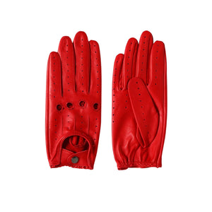 Driving Gloves - Race Red