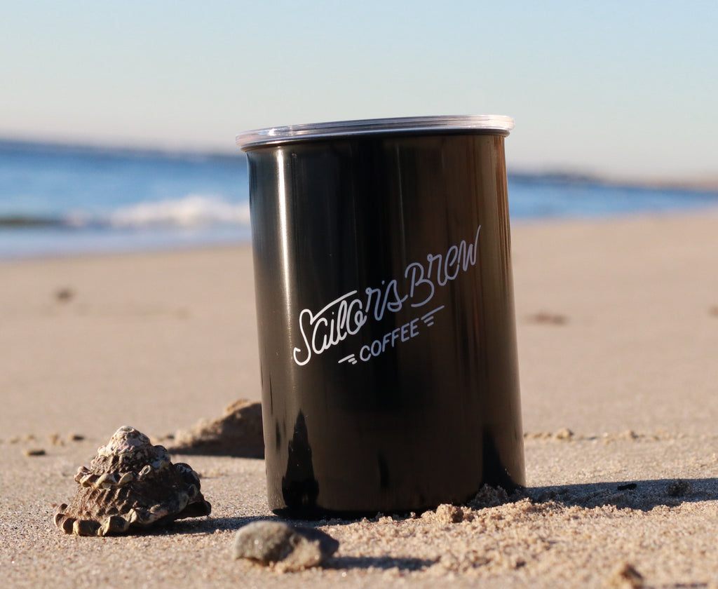 Sailor's Brew Coffee Steel Canister