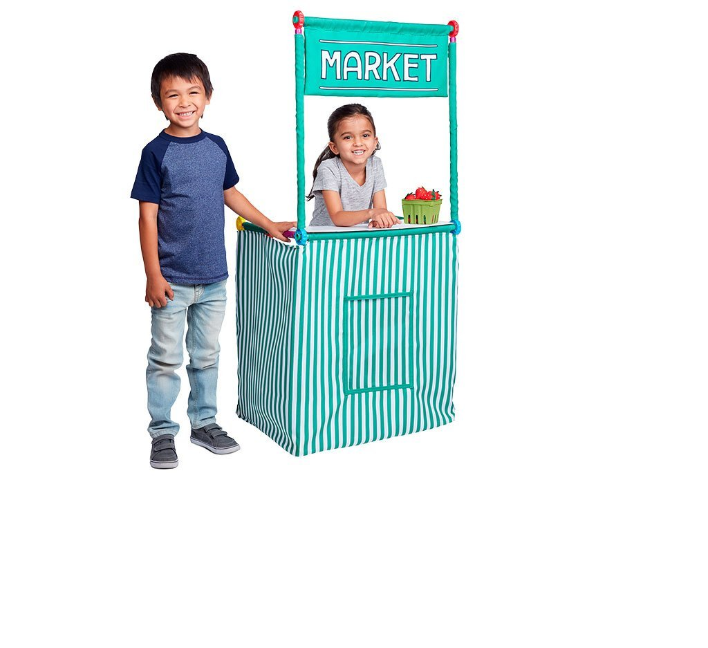 Market Checkout Stand Play Set