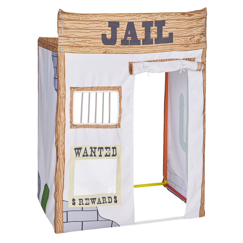 Wild West Jail Fabric Cover