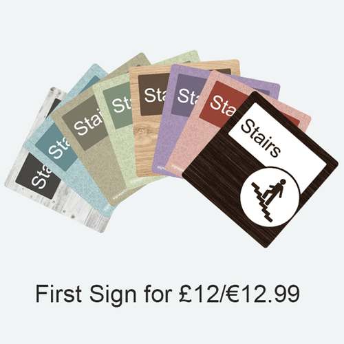 Your First Sign for £12/$12.99 - Signage for Care