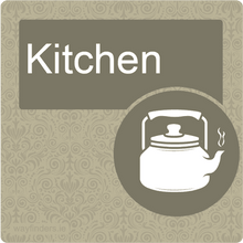 Load image into Gallery viewer, Dementia Friendly Kitchen Door Sign
