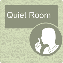 Load image into Gallery viewer, Dementia Friendly Quiet Room Door Sign