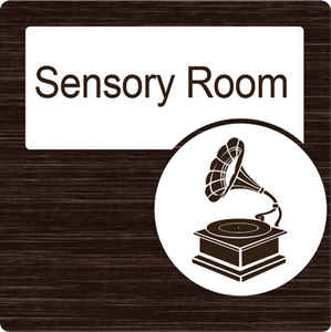 Dementia Friendly Sensory Room Door Sign