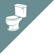Load image into Gallery viewer, Dementia Friendly Toilet Door Decal