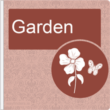 Load image into Gallery viewer, Dementia Friendly Projecting Garden Sign