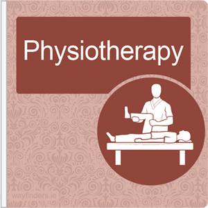 Dementia Friendly Projecting Physiotherapy Sign