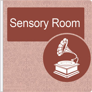 Dementia Friendly Projecting Sensory Room Sign