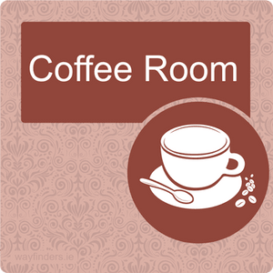 Nursing Home Dementia Friendly Door Sign Coffee Room