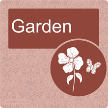 Load image into Gallery viewer, Nursing Home Dementia Friendly Door Sign Garden