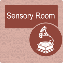 Load image into Gallery viewer, Nursing Home Dementia Friendly Door Sign Sensory Room