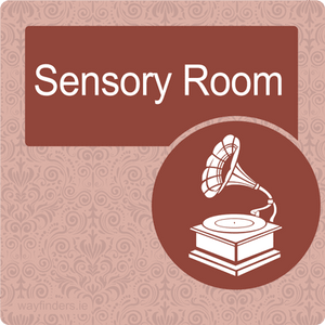 Nursing Home Dementia Friendly Door Sign Sensory Room