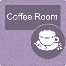 Load image into Gallery viewer, Nursing Home Dementia Friendly Door Sign Coffee Room