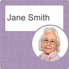 Load image into Gallery viewer, Dementia Friendly Signage Personalised Door Sign Purple