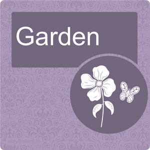Nursing Home Dementia Friendly Door Sign Garden