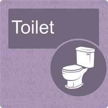 Load image into Gallery viewer, Nursing Home Dementia Friendly Door Sign Toilet