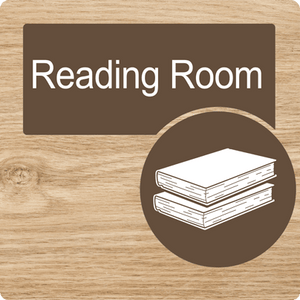 Dementia Friendly Reading Room Door Sign