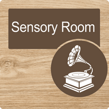Load image into Gallery viewer, Dementia Friendly Sensory Room Door Sign
