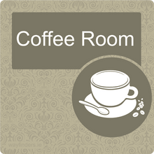 Load image into Gallery viewer, Dementia Friendly Coffee Room Door Sign