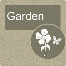Load image into Gallery viewer, Dementia Friendly Garden Door Sign