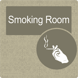 Dementia Friendly Smoking Room Sign