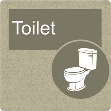 Load image into Gallery viewer, Dementia Friendly Toilet Door Sign
