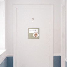 Load image into Gallery viewer, Dementia Friendly Signage Personalised Door Sign Brown