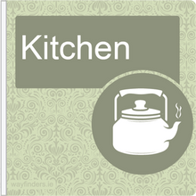 Load image into Gallery viewer, Dementia Friendly Projecting Kitchen Sign